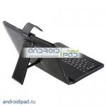 Кожаный чехол для планшета 8 дюймов, клавиатура, стилус