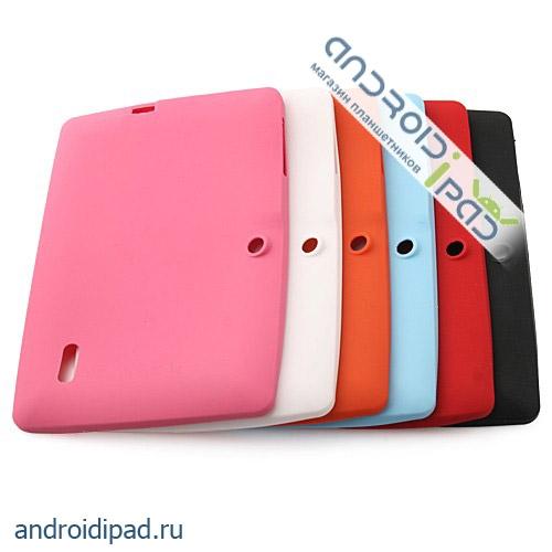 чехлы: Силиконовый чехол для 7-дюймового планшета YeahPad A13