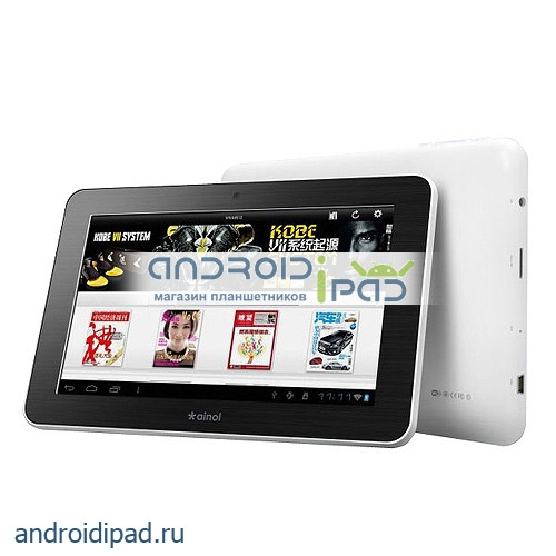 """диагональ 7"""": Планшетный компьютер Ainol Novo 7 Mars, 7"""", Android 4.0, 1Гб, 8Гб, HD"""
