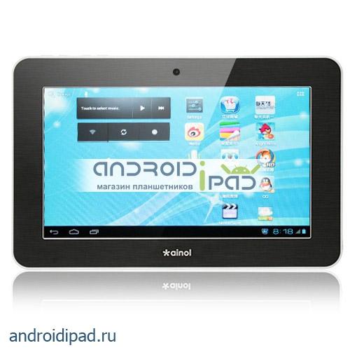 """диагональ 7"""": Планшетный компьютер Ainol Novo 7 Tornados, 7"""", Android 4.0, 1Гб, 8Гб"""