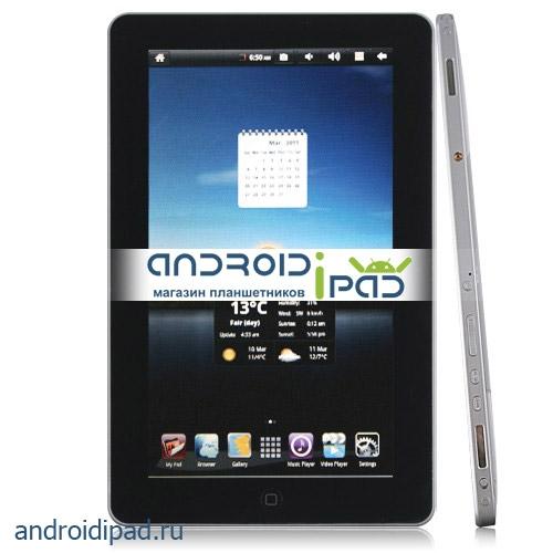 "диагональ 10"": Планшетный ПК (MID) Flytouch Pad 3, 10"", Android 2.3, 512МБ, GPS"