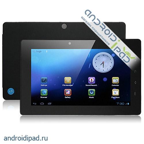 "диагональ 7"": Планшетный компьютер Hyundai A7ART Lite, 7 дюймов, Android 4.0, 512Mb/4Gb"